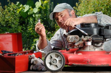 diy lawnmower servicing